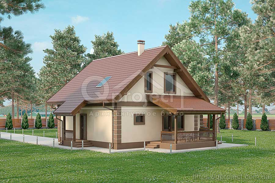 Проект дома Q22