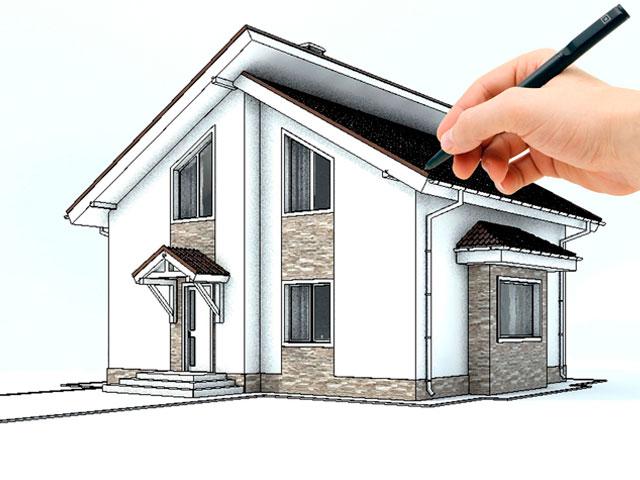 Проектирование индивидуального дома изображение