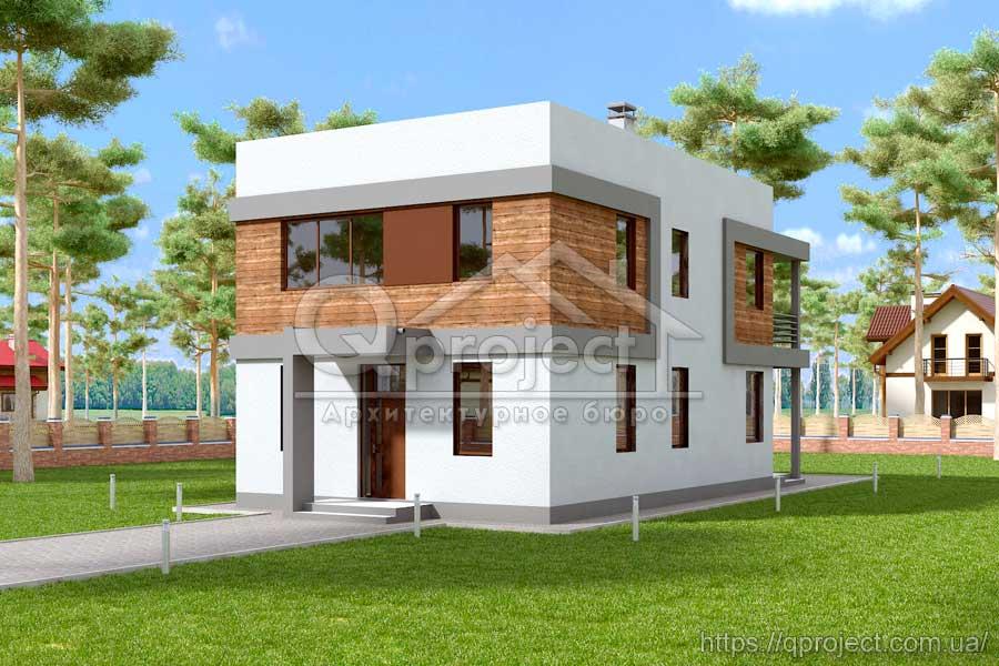 Проект дома Q3 фото